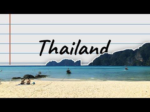 Thailand Vlog 2019 | Bangkok, Chiang Mai, Koh Phi Phi, Koh Tao, Koh Samui