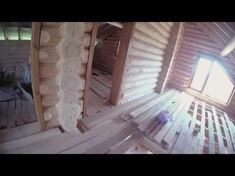 Усадка в деревянном доме.