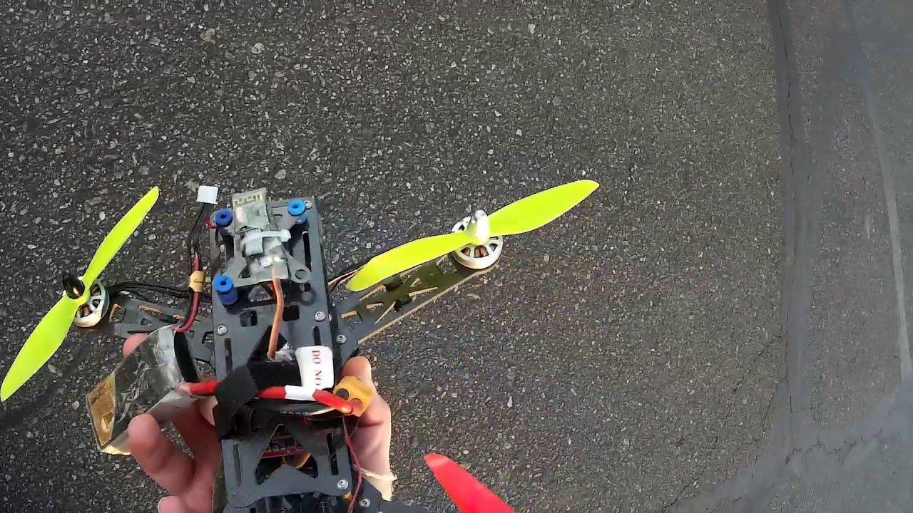 Yks Brushless 250 Quadcopter Motors In The Air Youtube Wiring Garage For 2204wirefeedersamebuildingjpg