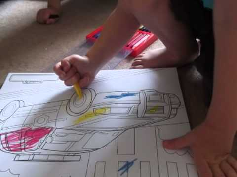 whatmeandtheboyssay review the Melissa & Doug Colouring Pad and ...