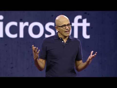 Microsoft Ignite 2018  Vision Keynote Excerpt