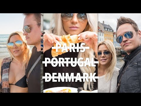 Paris – Portugal – Denmark |  Europe Travel Vlog | ellebangs