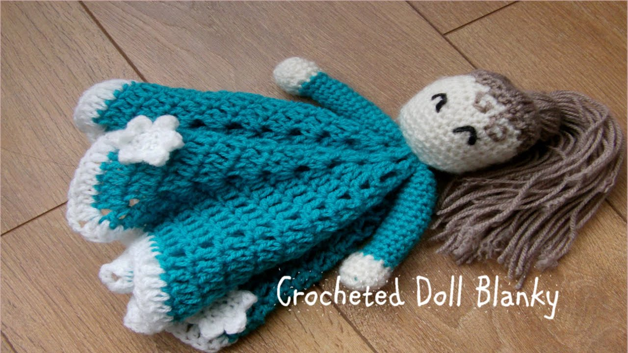 Amigurumi Doll Arms : Part crocheted doll blanky blanket and arms youtube