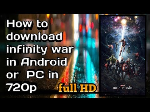 How To Download Avengers Infinity War In Hindi Full Hd