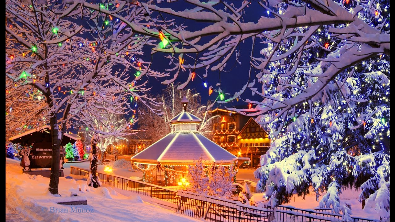 The world 39 s most magical christmas towns youtube Best villages in america
