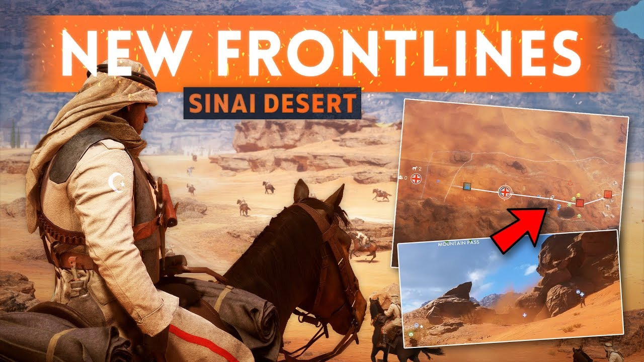 Map World Mouments%0A NEW FRONTLINES MAP  SINAI DESERT    But It Needs Work   Battlefield   New  FREE Content