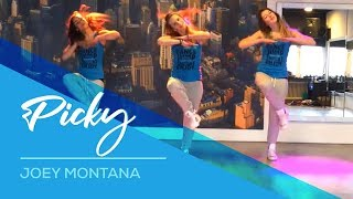 Joey Montana - Picky - Available on computer/laptop  Easy Fitness Dance Choreography Zumba workout