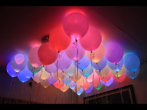 led balloons with on off switch youtube