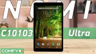 Nomi C10103 Ultra 10'' - недорогой планшет с 3G и большим экраном - Видеодемонстрация от Comfy.ua(Nomi C10103 Ultra - андроид-планшет с поддержкой телефонии и смс-сообщений. Модель оснащеня 10-ти дюймовым IPS экраном..., 2016-03-18T11:16:47.000Z)