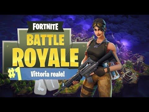 Fortnite: Vittoria Reale