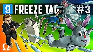LOBSTER CAVE, TRAMPOLINE FUN! | Garry's Mod Freeze Tag #3 Ft. Mini, Nogla, Marcel, Fourzero, Smii7y