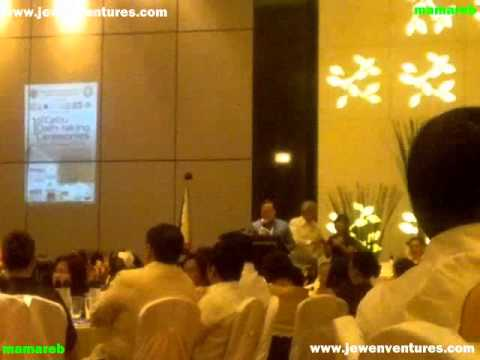 1st Cebu Oath taking for Real Estate Practitioners