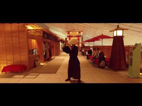 Haneda Airport International Terminal 『Samurai Film Fighting in Haneda』Oct, 2016