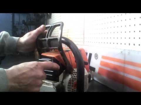 The chainsaw guy shop talk Stihl MS 391 Buckshot exhaust