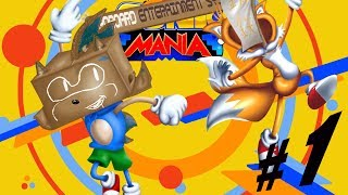 Sonic Mania On Cardboard Entertainment System - Episode 1: Hills