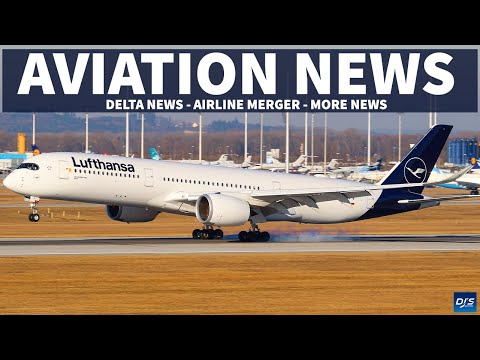 DELTA NEWS - AIRLINE MERGER   Aviation News