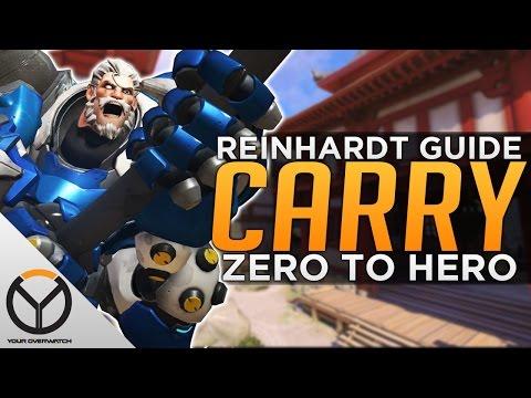 Overwatch: Reinhardt Advanced Guide - Carry as Rein!