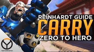 Overwatch: Reinhardt Advanced Guide - Carry as Rein!