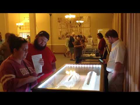 Morning Time Lapse of Archaeology at The Alamo Event