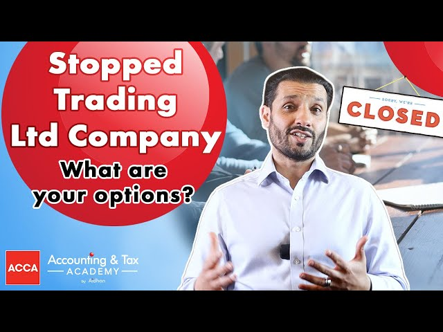 Stop Trading | What are your Options?