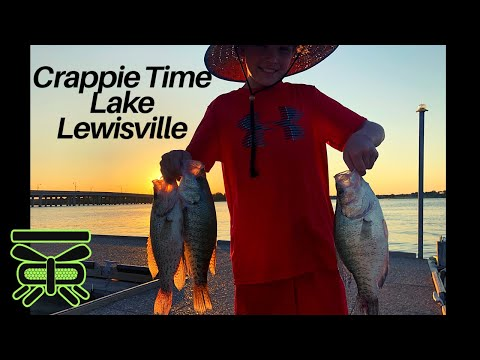 SUMMER CRAPPIE FISHING WITH ME AND LANDEN, LAKE LEWISVILLE