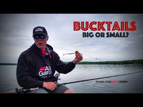 Large vs  Small Bucktails for Muskies - Which is Best? - YouTube