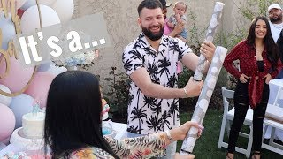 BTS OF OUR GENDER REVEAL