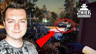 UCIEKAM PRZED POLICJĄ!! | THIEF SIMULATOR #2
