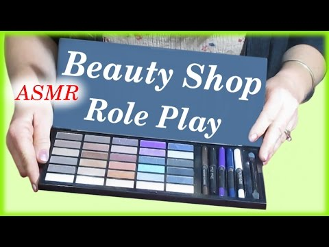 Velvet Eyeshadows  Beauty Shop Role Play ASMR Personal Attention