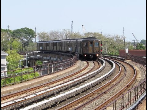 NYC Subway Nostalgia Train to Rockaway Park Beach