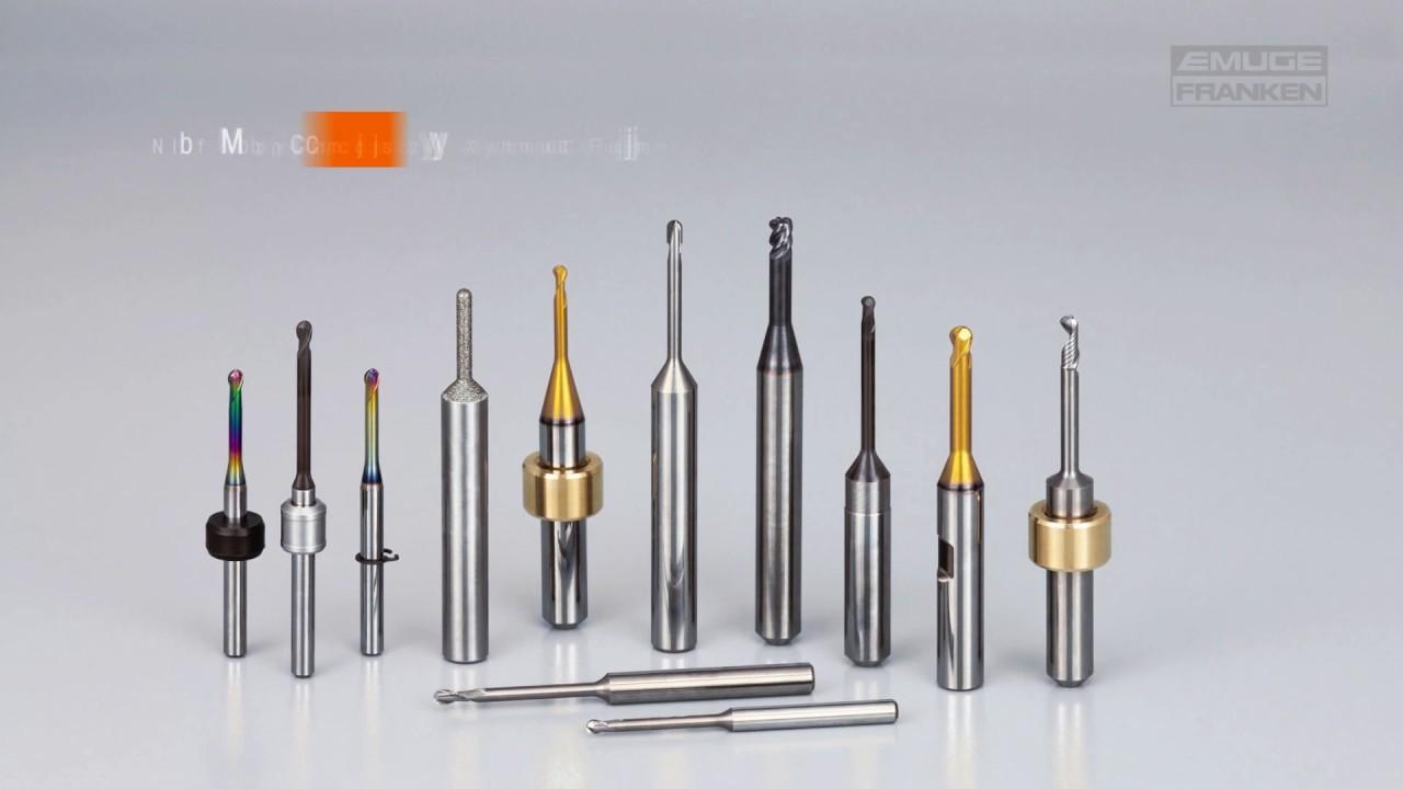 EMUGE-FRANKEN Dental Tools