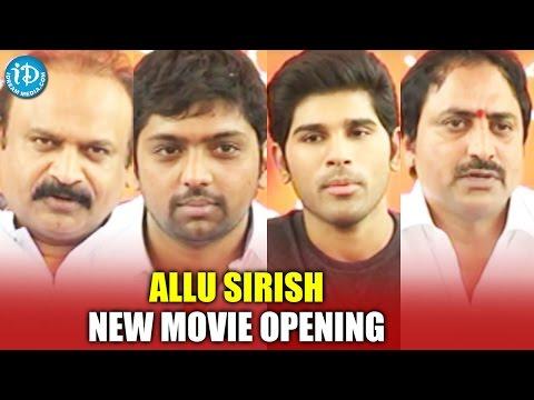Allu Sirish New Movie Opening || Srirastu Subhamastu || IDream Filmnagar