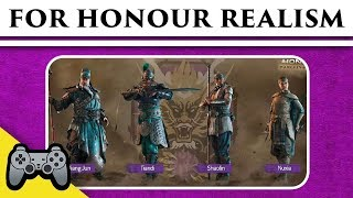 For Honor - Wulin Chinese Faction Historical Evaluation