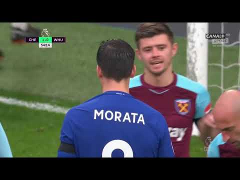 Chelsea vs West Ham 1 1   All Goals & Extended Highlights   EPL 08 04 2018 HD