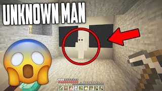 We found a SCARY Unknown Man in Minecraft 1.14... (Unknown Man Documentary)