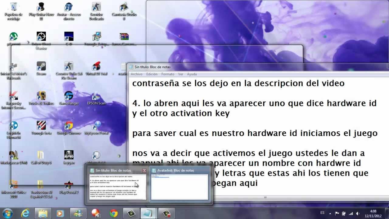 Avatar game serial key free download