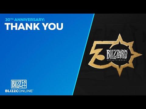 BlizzConline 2021 - Blizzard 30th Anniversary - Thank You - Blizzard Entertainment