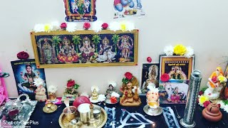 SMALL POOJA ROOM ORGANISATION IN TAMIL