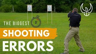 What Are The Biggest Shooting Errors? [Chris Sajnog's 5 in Under 5 FAQ]
