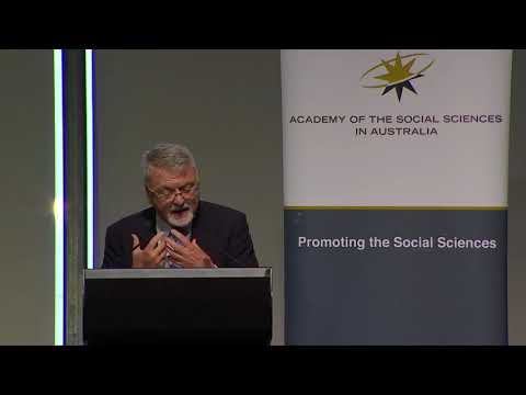 Cunningham Lecture - A Social Science of Failure - Professor Peter Shergold AC