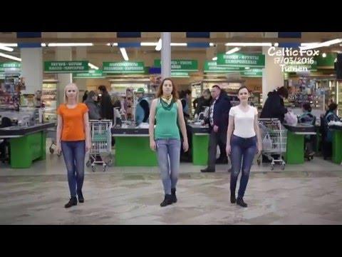 Танцевальный флешмобТюменьВояж17.03.2016