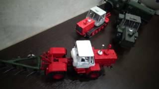 Модель трактора Т-150К ССМ
