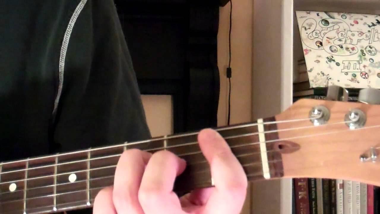 How To Play the Bbmaj7 Chord On Guitar (B flat major seventh) 7th