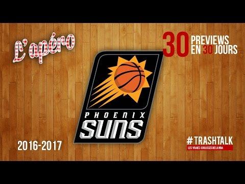 Apéro TrashTalk - Preview saison 2016/17 : Phoenix Suns