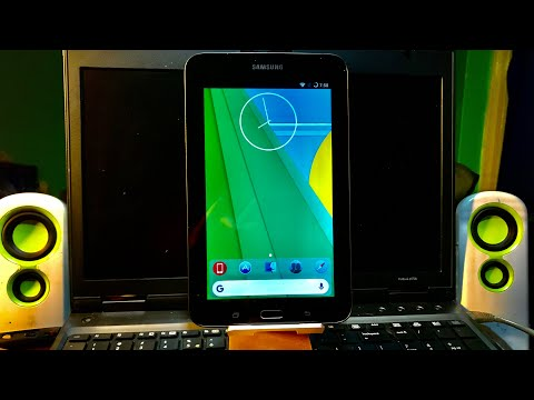 Full Upgrade Samsung Tab 3 Lite T113 & T116 to Android 7.1.2 Nougat from KitKat tutorial 2019 thumbnail