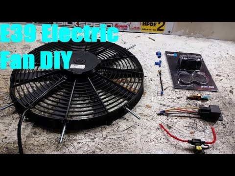 E39 BMW 540i Electric Fan Conversion (Cooling Overhaul Part 3 of 5 E Bmw Cooling Fan Wiring Diagram on bmw e39 accessories, bmw e39 rear speakers, bmw e39 seats, bmw e39 engine, bmw e39 relay location, bmw e39 speaker sizes, heated seat wiring diagram, bmw e39 radio, bmw e39 exhaust system, bmw e39 dimensions, bmw e39 antenna, bmw e39 brochure, bmw e39 cover, bmw e39 fuel system, bmw e39 fuse location, bmw e39 clutch, bmw e39 wheels, bmw e39 headlights, lexus rx300 wiring diagram, bmw e39 suspension,