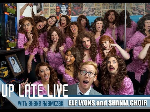 UP LATE LIVE S02EP01  Elf Lyons and Shania Choir
