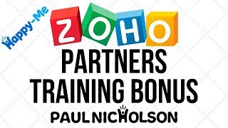 Zoho Partner Free Premium Training Introduction
