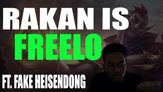 RAKAN IS FREELO! | PLAYING AGAINST FAKE HEISENDONG? | HARD CARRY AS SUPPORT | SouloTV