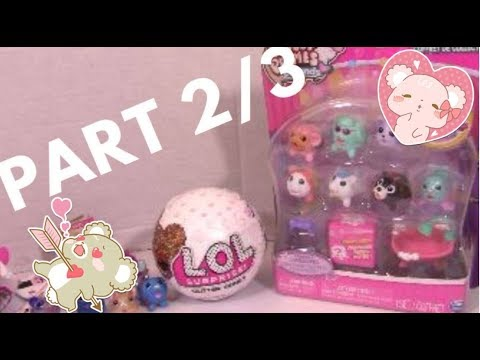 Part 2 Chubby Puppies and LOL Dolls! Fashion BABIES! LOL Glitter Surprise Doll Unboxing